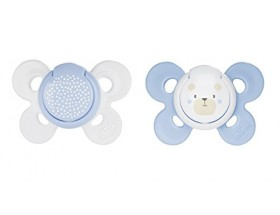 CHICCO SUCETTE PHYSIO COMFORT 0-6M+ BLEU