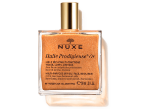 NUXE HUILE PRODIGIEUSE OR HUILE SÈCHE MULTI FONCTION 50ML