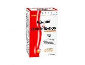 Phytothera MEMOIRE & CONCENTRATION 30 GELLULES..