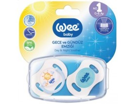 wee baby 2 Sucettes 0-6M JOUR& NUIT..